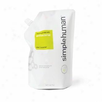 Simplehuman Liquid Hand Soap Refill Pouch, Antibacterial (aloe & Cucumber)