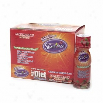 Simplifast 100% Natural Fast Diet Remove, Strawberry Mango
