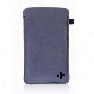 Simplism Japan Microfiber Sleeve Set For Ipod Touch 4th, Black