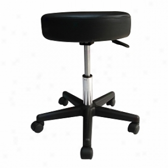 Sivan Hdalth And Fitness Rolling Adjustable Stool According to Massage Tables Medical Office And Home Use, Dark