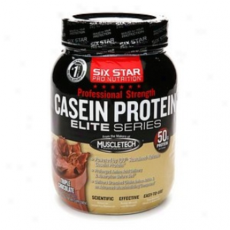 Six Star Professiona Strength Casein Protein Elite Series, Triple Chocolate