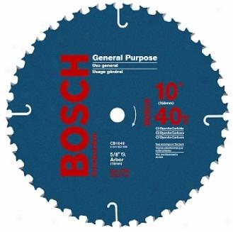 Skil 10  40t General Purpose Circular Saw Blade Cb1040