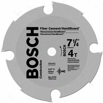Skil 7-1/4  4t Fibercement & Hardiboard Circular Saw Blade Cb704