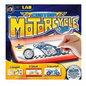Smart Lab Custom Motorcycle Drawing Studik Ages 7 And Up