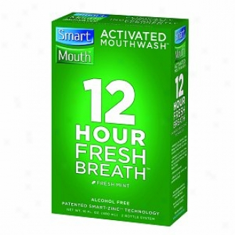 Smartmouth Adtivated Muothwash, Great Mint Flavor