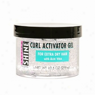 Smooth 'n Shine Polishing Curl Activator Gel, For Extra Dry Hair With Aloe Vera