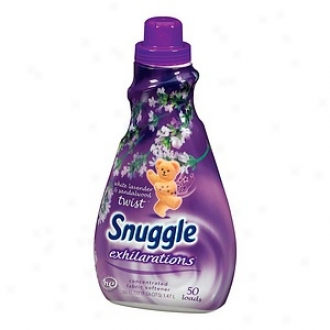 Snhggle Exhilarations Liquid Fabric Softener, Pale Lavender & Sandlewood Twine