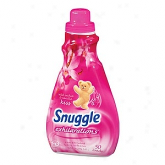 Snuggle Exhilarations Liquid Fabric Softener, Wild Orchid & Vanilla Kiss