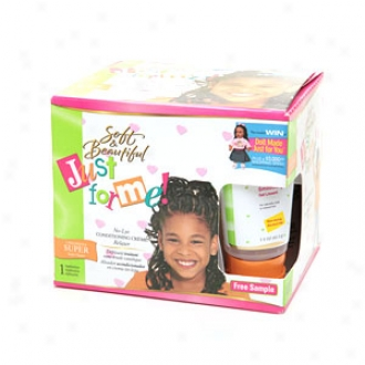Soft & Beautiful Just For Me! No-lye Conditioning Creme Relaxer, Children's Super