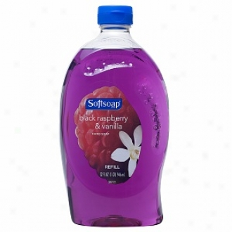 Softsoap Liquid Hand Soap Refill, Black Raspberry & Vaniila