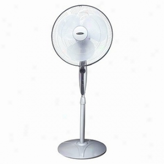 Soleus Air 16  Oscillating Stand Fan With Remote Control Model Fs3-40r-30