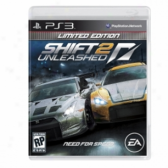 Sony Ps3 Shift 2 Unleashed By Electronic Arts