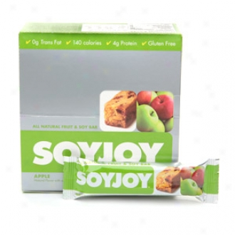 Soyjoy All Natural Baked Whole Soy And Fruit Bar, Apple
