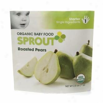 Sprout Organic Baby Food:  1 Starter: Single Ingredients, Roastd Pears