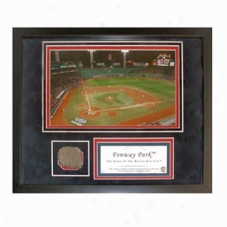 Steiner Sports Boston Red Sox eFnway Park Photograph W Authentic Mini Brick From Fenway Collage