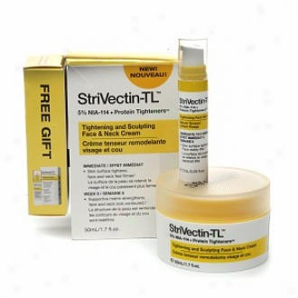 Strivectin-tl Tightening And Sculpting Face & Neck Cream + Free Gift Tightening Face Serum