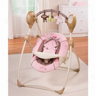 Summer Infant Carter's Jungle Jill Cozy Comfort Musical Swing, Stab