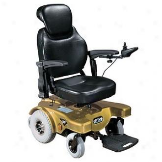 Sunfire Rear Wheel Drive Powered Wheelchair Captains Seat