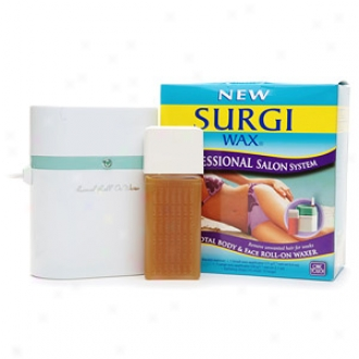 Surgi-wax Professional Salon System, Total Consistency & Face Roll-on Waxer