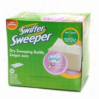 Swiffer Seeeper Dry Sweeping Cloths With Febreze, Febreze, Lavender & Vanilla Comfort