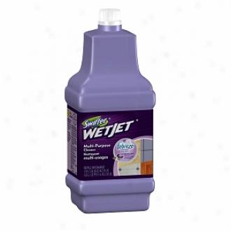 Swiffer Wetjet Multi-purpose Solution Refill With Febreze, Lavender & Vanilla