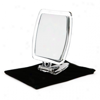 Swissco Acrylic Rectangle Compact-standing Mirror, 7x,