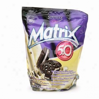 Syntrax Matrix 5.0 Protein Blend, Powder, Cookies & Cream