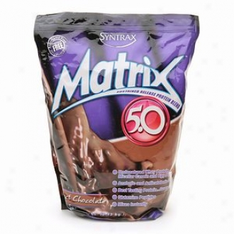Syntrax Matrix 5.0 Protein Blend, Powder, Perfect Chocolate