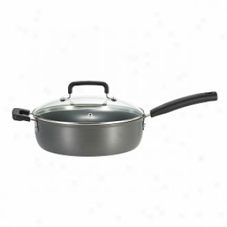 T-fal D9133364 Signature Hard Anodized 10   Covered Skillet 4.2-quart