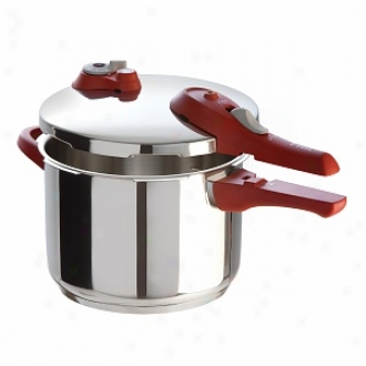 Tf-al Ys2h3664 6.3-quart Stainless Steel Pressure Cooker