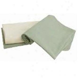 Tadpoles Organic Flannel Receiving Blankets Set/3, Sage