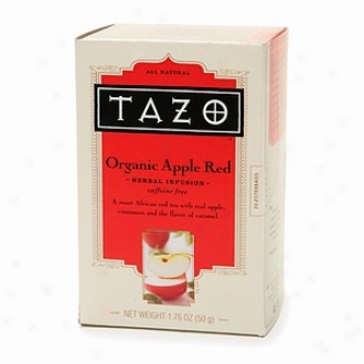 Tazo Caffeine Free Herbal Infysion, Radical Apple Red