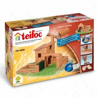 Teifoc Mean House Brick Construction Set - 79 Pc. Ages 6+