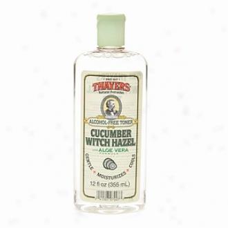 Thayers Alcohol-free Cucumber Witch Hazel With Organic Aloe Vera Formula Toner