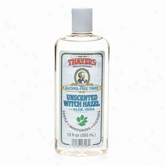Thayers Alcohol-free Unscented Witch Hazel With Organic Aloe Vera Formula Toner