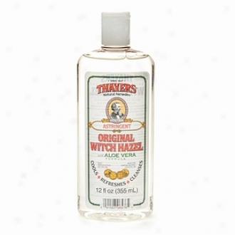 Thayers Original Wittch Hazel With Organic Aloe Vera Formula Astringent