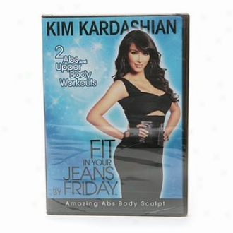 The Firm Kim Kardashan, Fit In Your Jeans By Friday: Amazing Abs Body Sculpt Dvd