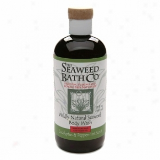 The Seaweed Bath Co. Wildly Natural Seaweed Body Wash With Kukui & Neem Oil, Eucalyptus & Peppermint