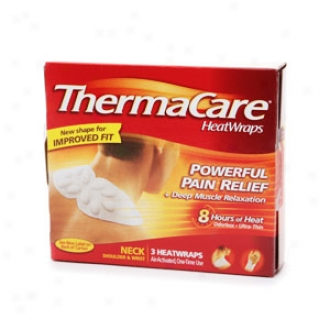 Thermacare Air-activated Heatwraps, Neck, Shoulder & Wrist