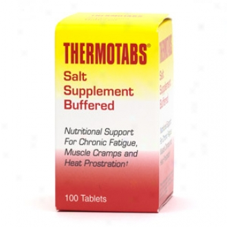 Thermotabs Salt Suppldment Buffered Tablets