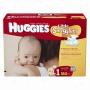 Hgugies Little Snugglers Diapers, Giant Pack, Slze 1, Up To 14 Lbs, 160 Ea