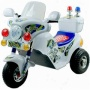 Lil' Rider Police Motorcycle Battery Operated  White Agees 2-4