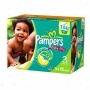 Pampers Baby Dry Diapers, Value Gang, Size 3, 16-28 Lbx, 144 Ea