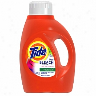 Tide Liquid Detergent Plus Bleach Alternative, 26 Loads, Mountain Spring