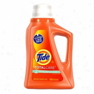 Tide Liquid Detergent, Totalcare, 20 Loads, Renewing Rain