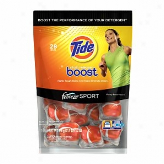 Tide Stain Release Boost With Febreze In-wash Booster Pacs, Victory Boost