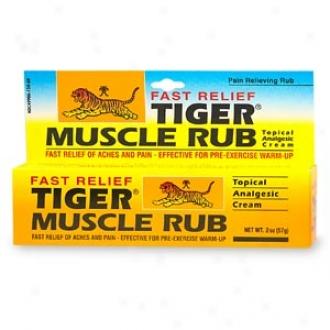 Tiger Balm Muscle Rub - Topical Anzlgesic Choice part