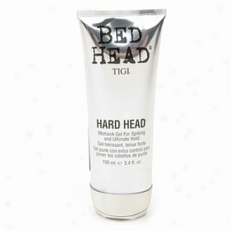 Tigi Bed Head Hard Head Mohawk Gel For Spiking And Ultimare Hold