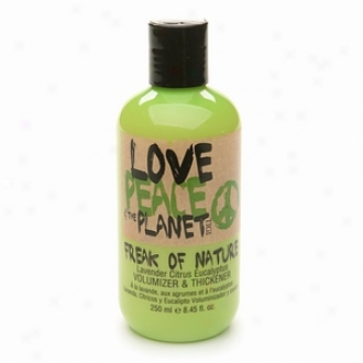 Tigi Love, Peace & The Planet Freak Of Nature Volumizer &am0; Thickener, Lavender Citrus Eucalyptus