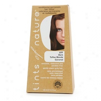 Tints Of Nature Conditioning Permanent Hair Color, Dark Toffee Blonde Caramel 6tf